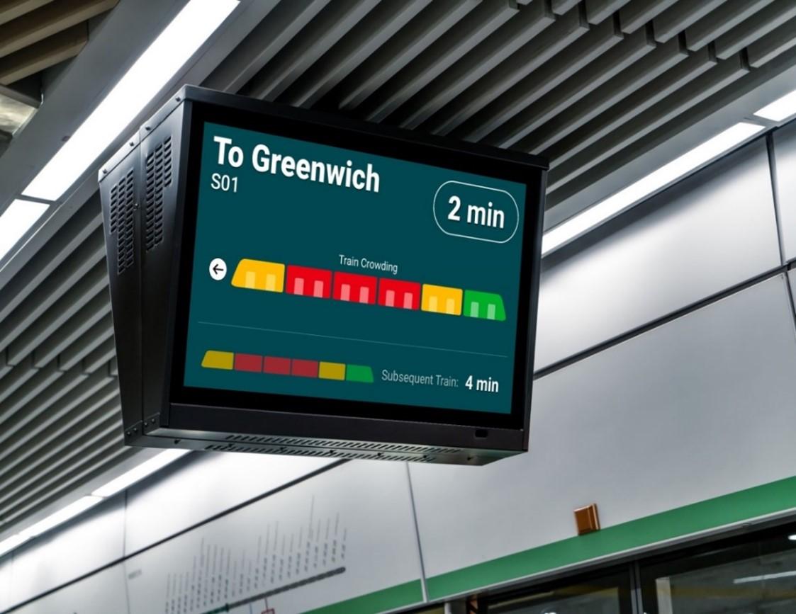 Thales oferă operatorilor de transport public informații în timp real privind densitatea pasagerilor