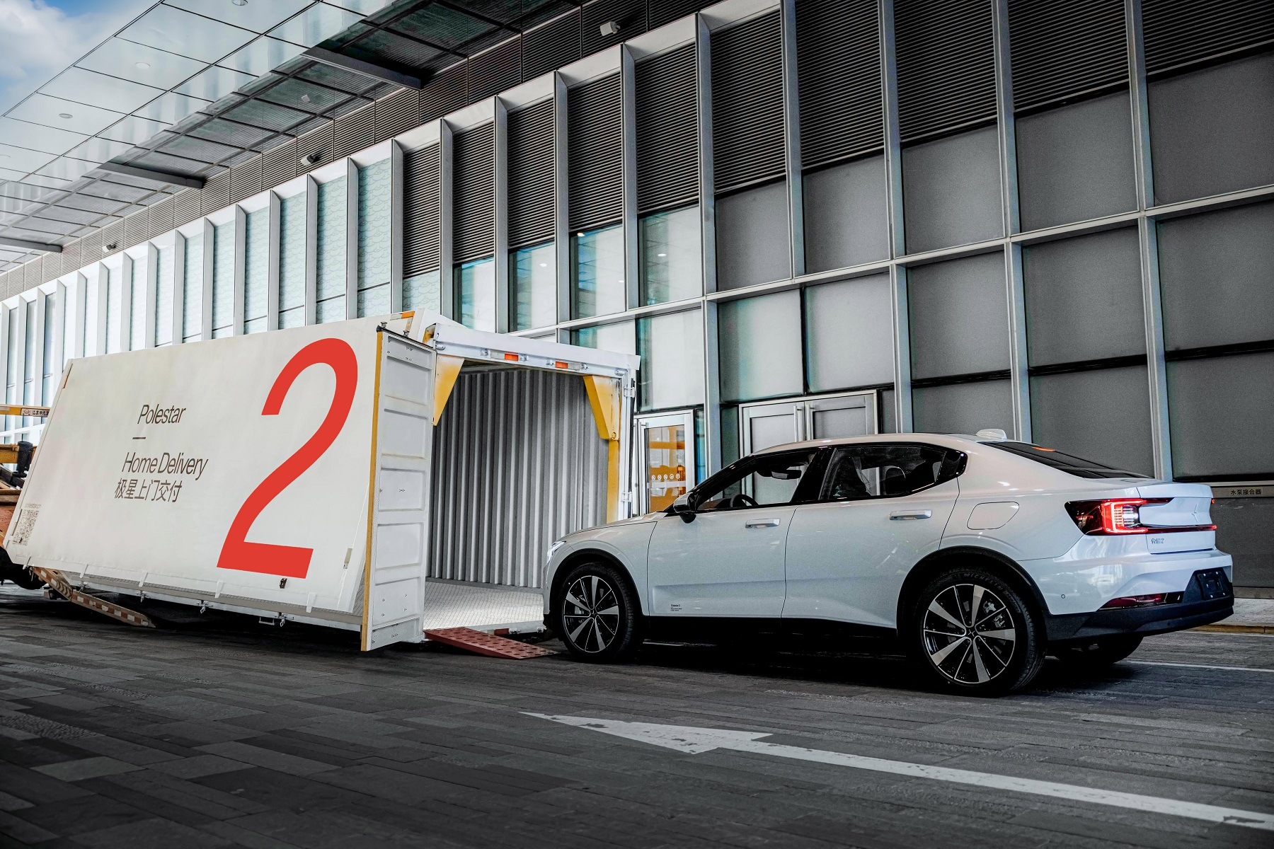 GEFCO semnează un parteneriat cu Polestar pentru livrarea de mașini la domiciliu în China