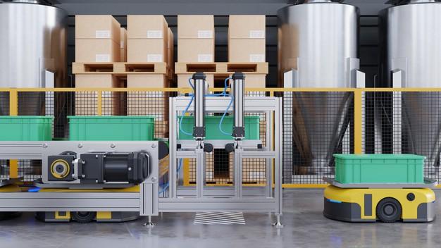 robots-efficiently-sorting-hundreds-parcels-per-hour-3d-rendering_41470-3168