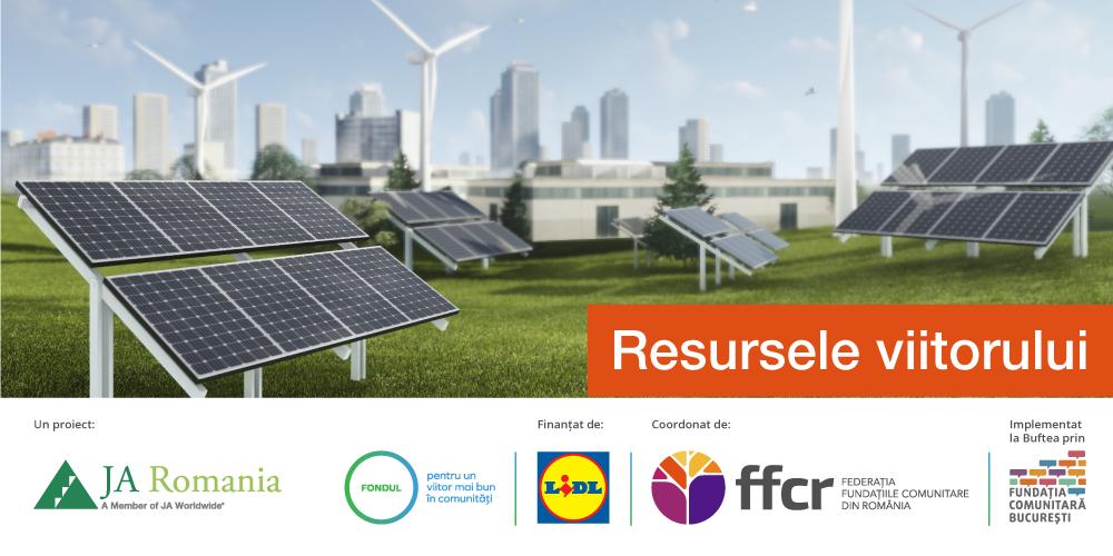 RESURSELE VIITORULUI – proiectul educațional dedicat comunității, economiei circulare și protecției mediului, se apropie de final