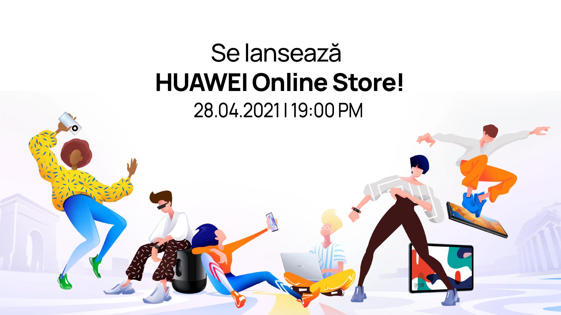 Huawei își deschide magazin online