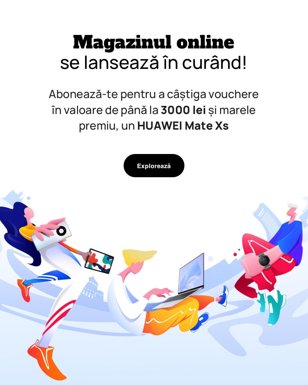 Premii atractive cu ocazia lansării noului Huawei Online Store