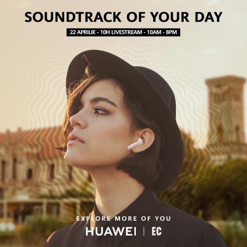 Parteneriatul Huawei CBG – Electric Castle reunește tehnologia și muzica pentru o experiență audio unică
