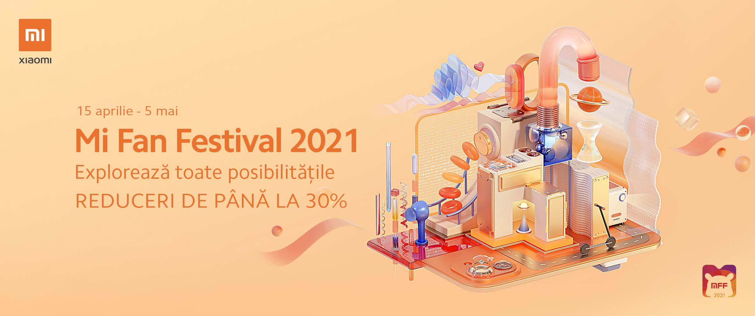 Xiaomi dă startul Mi Fan Festival 2021