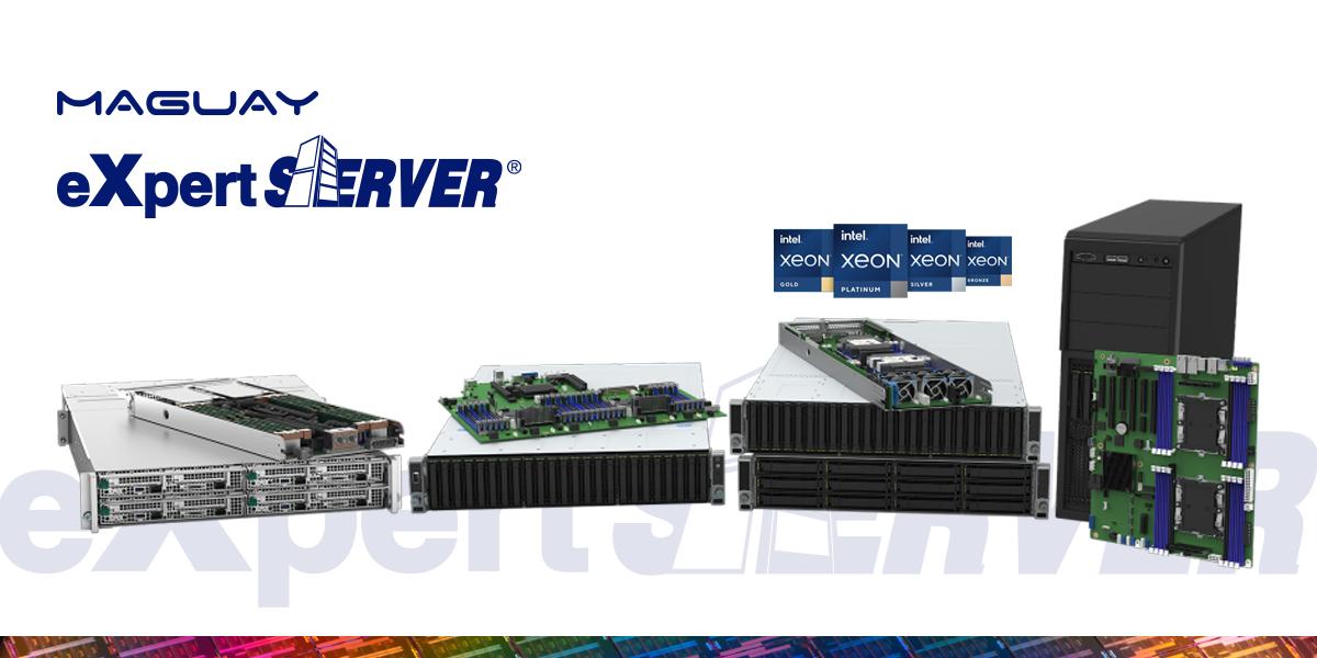 Noile servere Maguay eXpertServer bazate pe cea de-a 3-a generație Intel® Xeon® Scalable