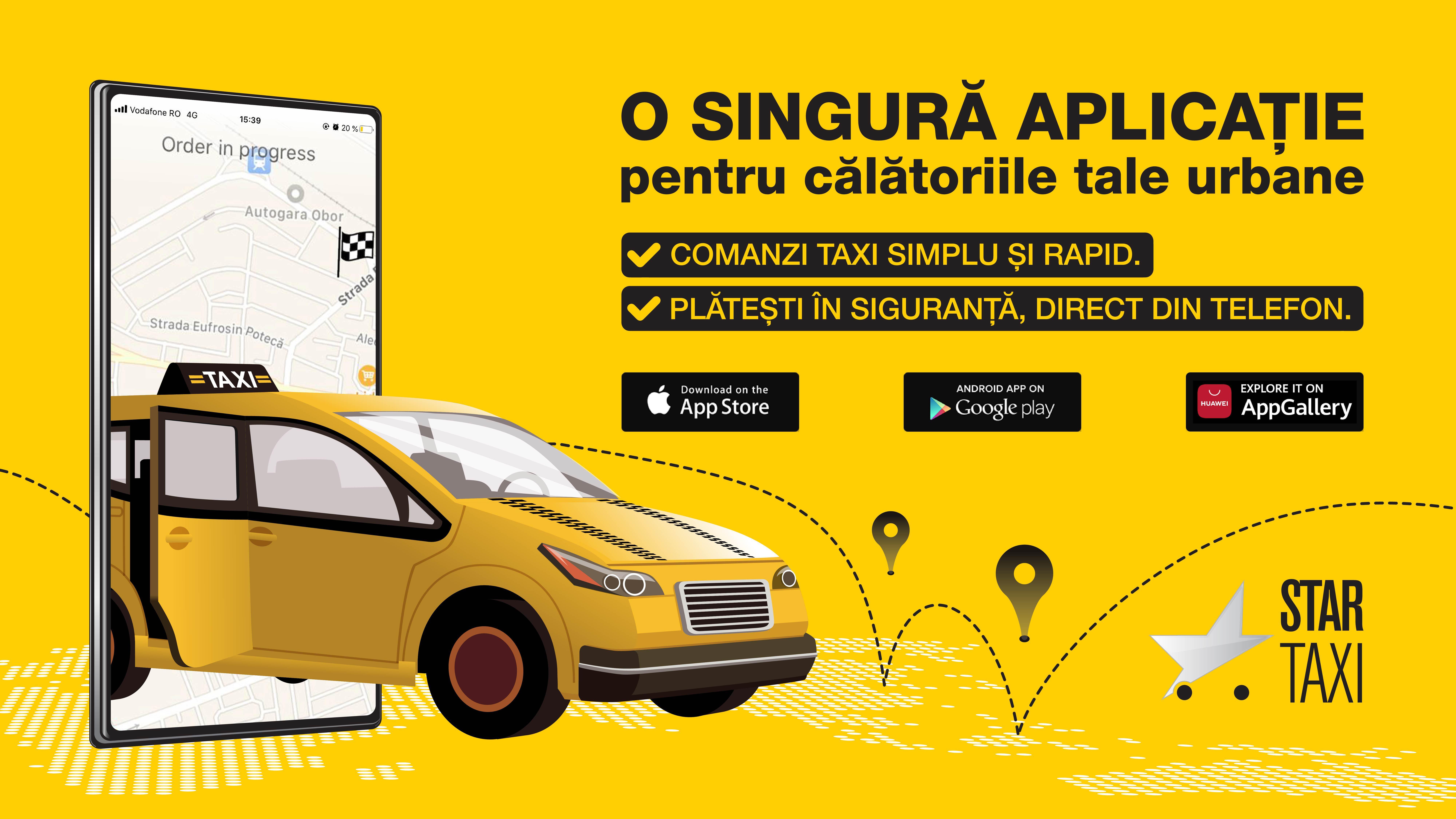 Star Taxi - pe podiumul preferintelor romanilor (1)