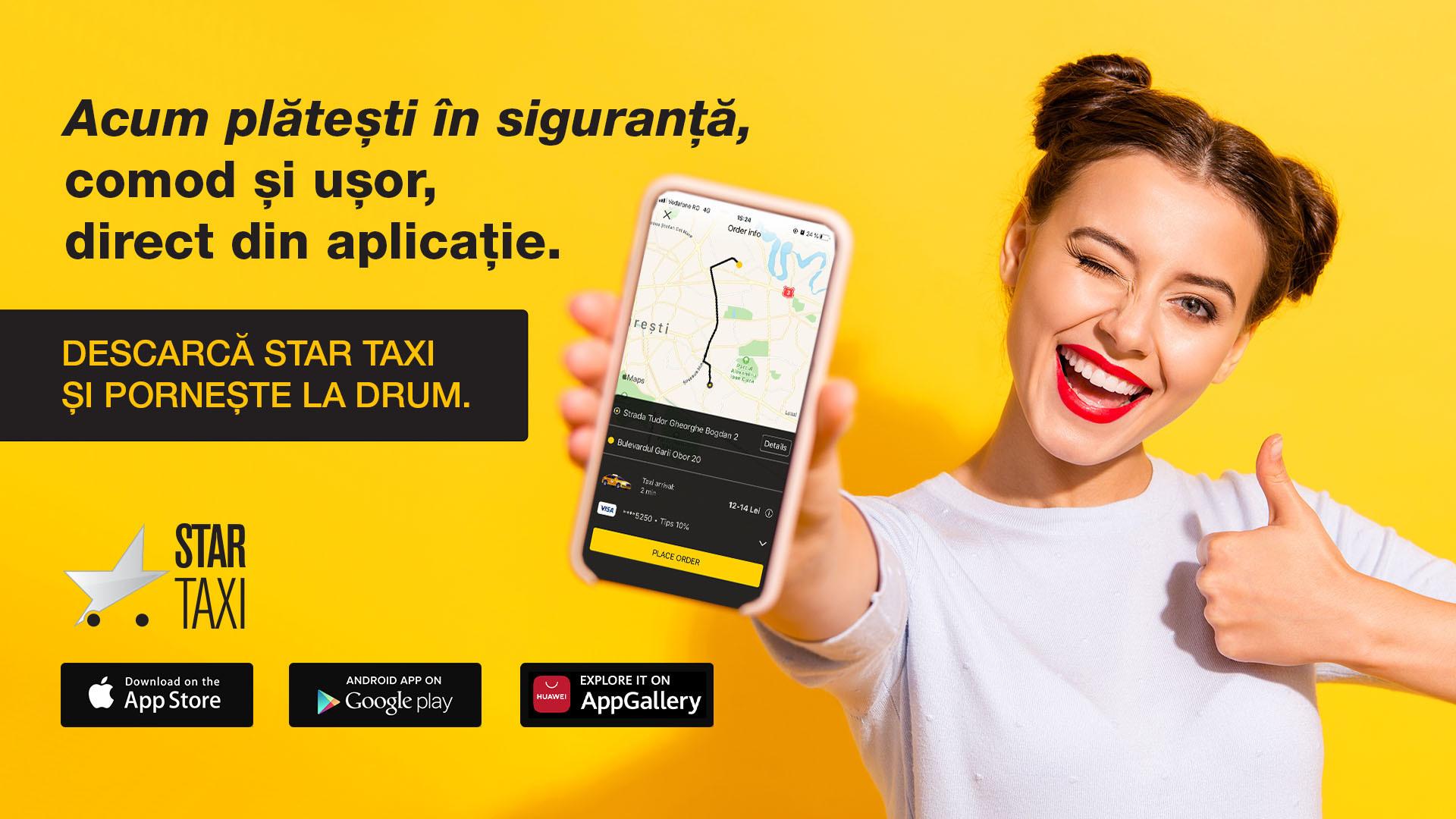 Star Taxi App depășește 80 de milioane de comenzi