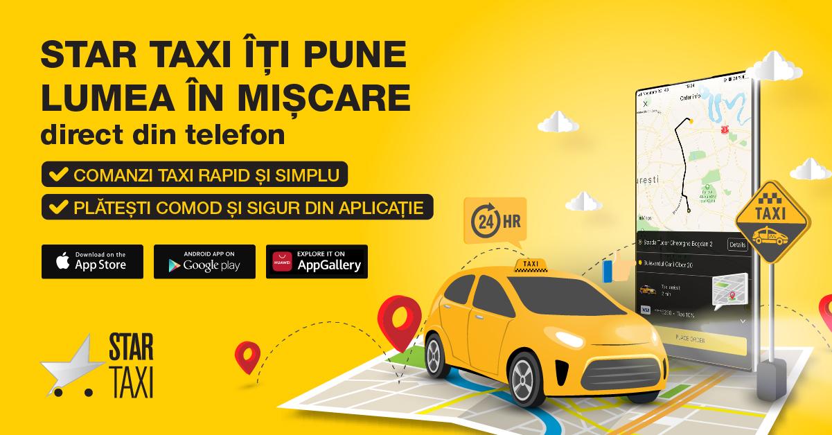 Trăiește adevărata experiență a călătoriilor urbane cu Star Taxi App(1)