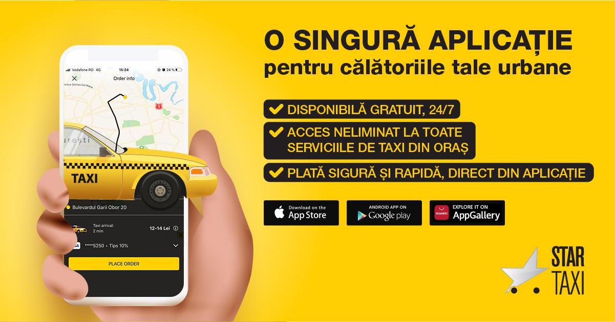 Trăiește adevărata experiență a călătoriilor urbane cu Star Taxi App(2)