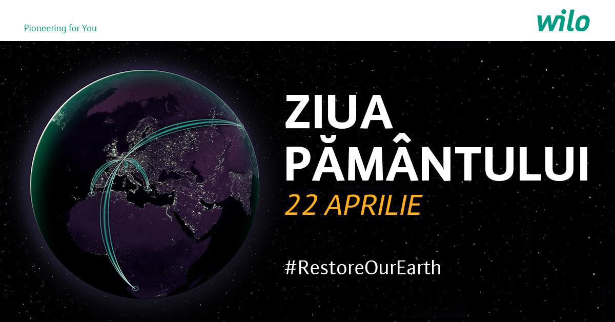 De Ziua Pământului, Wilo te invită să pornești schimbarea pentru Planetă