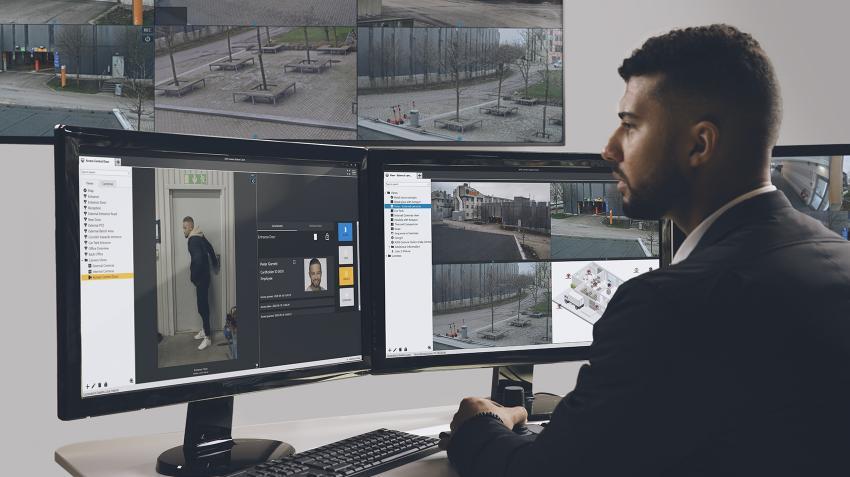 Axis Camera Station Secure Entry – Supraveghere video unificată și controlul accesului pentru  protejarea incintelor