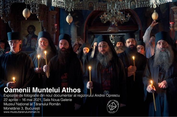 Fotografii din Athos la Muzeul Țăranului ale regizorului Andrei Oprescu
