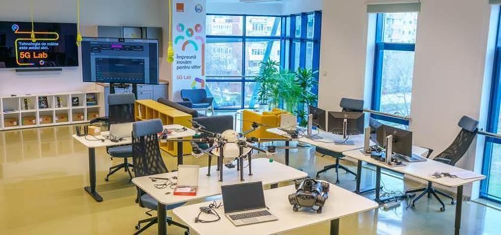Primul laborator 5G din România