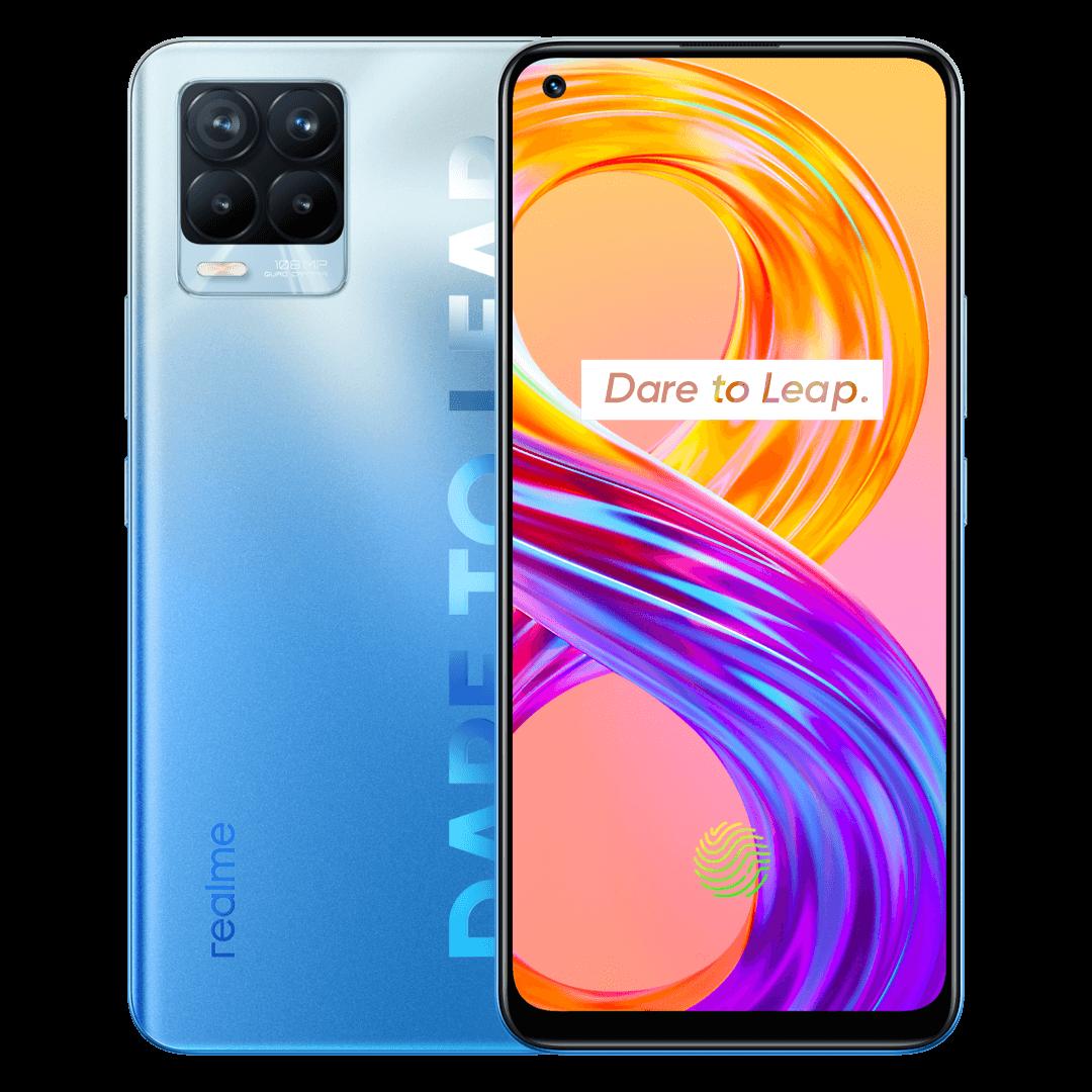 Noile telefoane  realme 8 și realme 8 Pro lansate în România