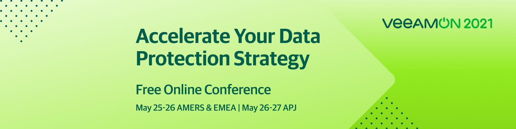Veeam permite organizațiilor să își accelereze strategiile de protecție a datelor în timpul  VeeamON 2021