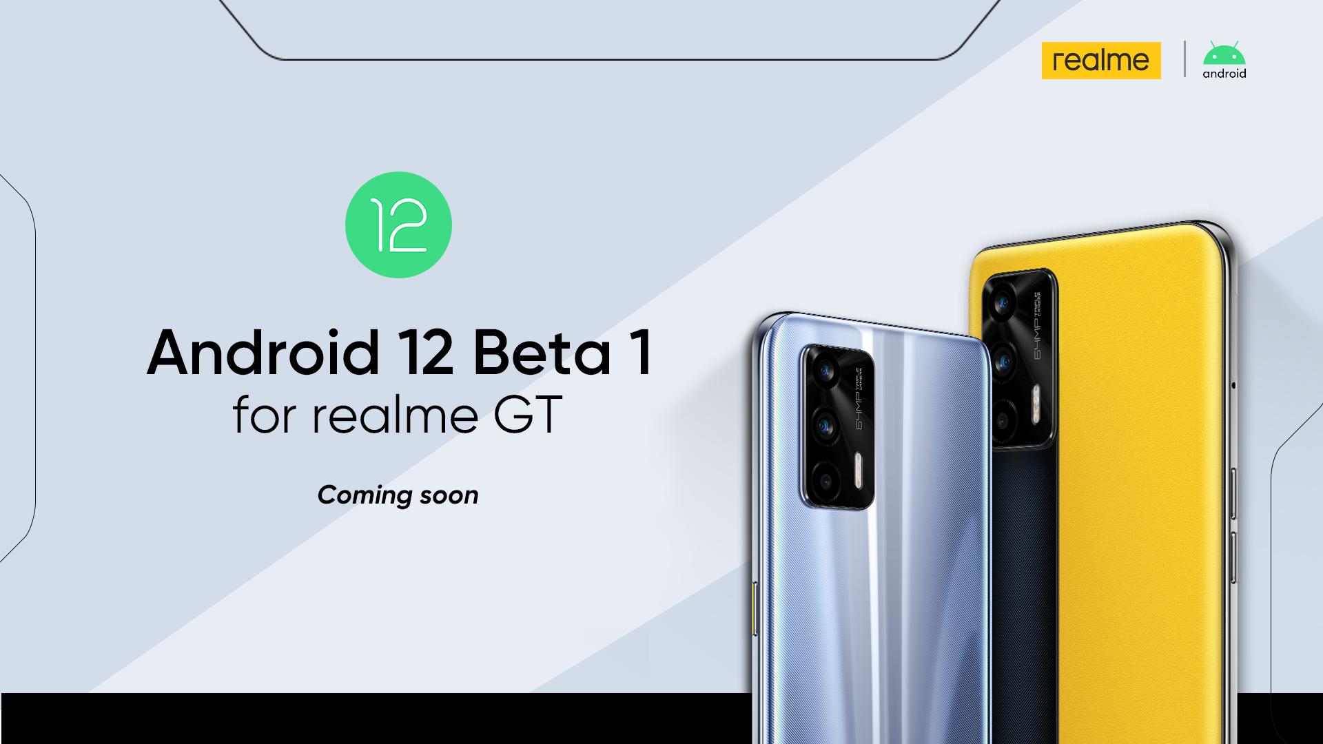 Android 12 Beta pentru noul realme GT,  dar şi o ofertă de nerefuzat pentru realme 8 5G în următoarele 72 de ore