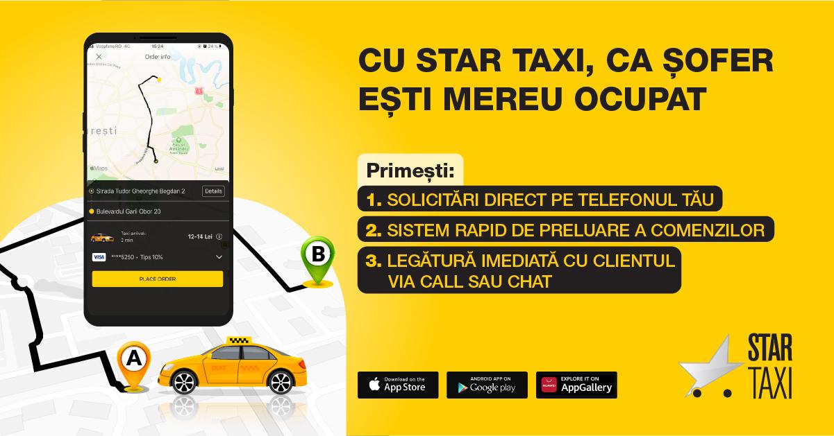 Tehnologia care a schimbat piața națională de taximetrie