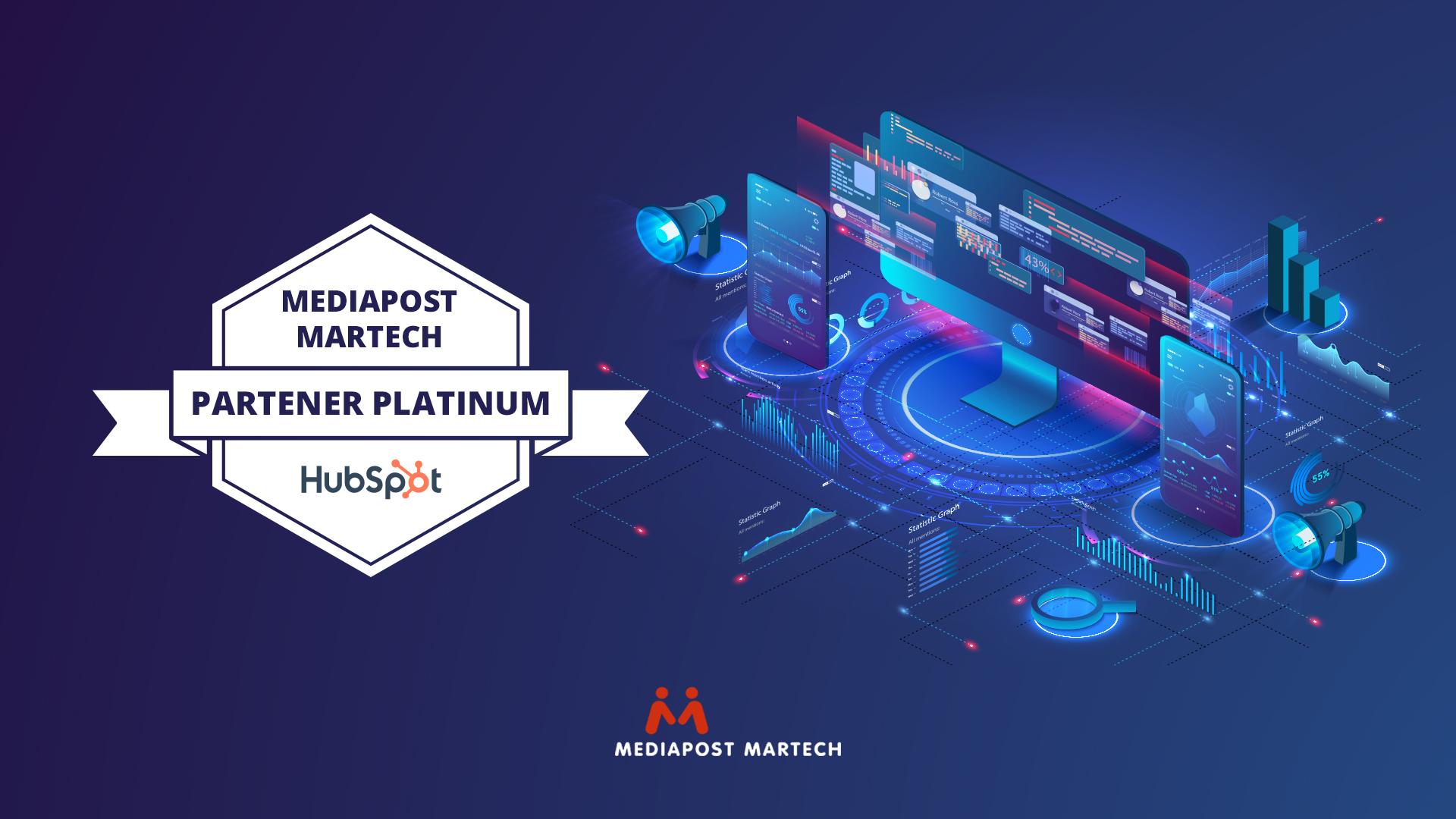 Foto_Mediapost Martech, Partener Platinum al HubSpot