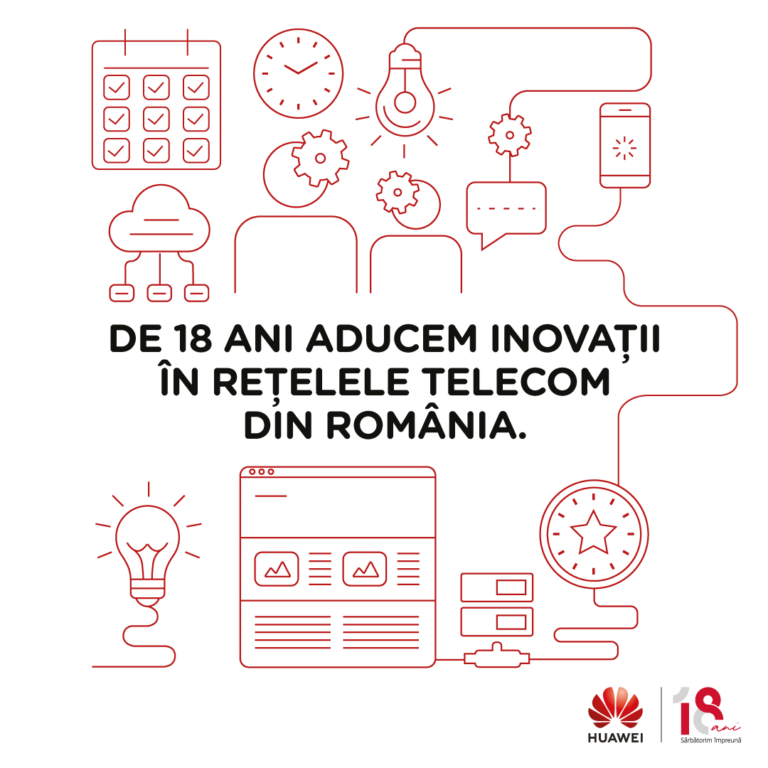 18 ani de inovație Huawei în România