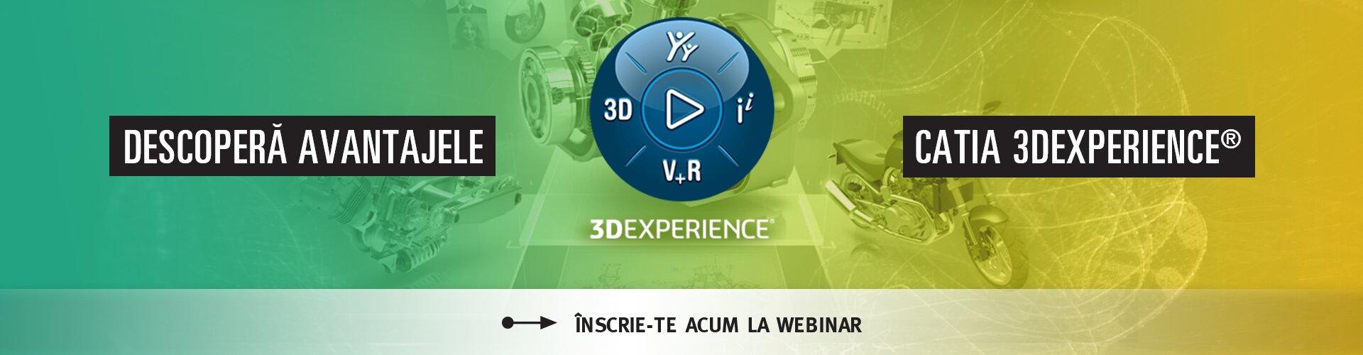 Avantaje CATIA 3DEXPERIENCE
