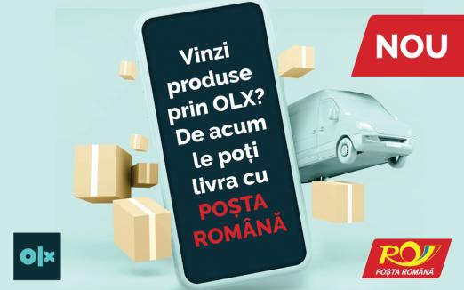 Poşta Română va livra produsele comandate pe OLX