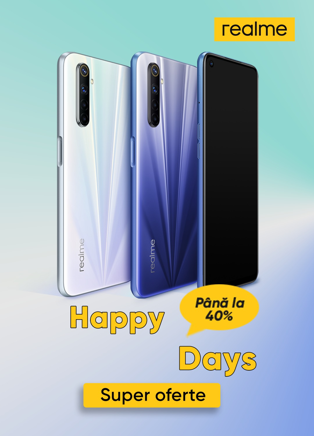 realme anunță ofertele Happy Days