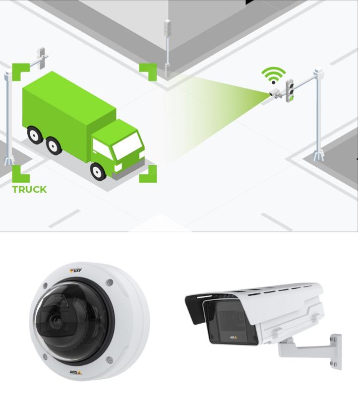 GoodVision a creat pentru camerele Axis o soluție de analiză a traficului în timp real, bazată pe elemente de inteligență artificială