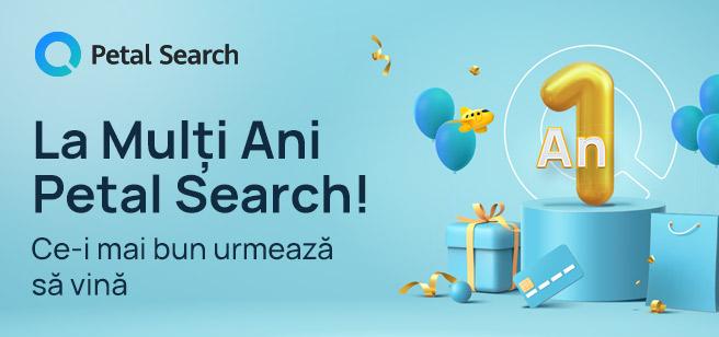 Petal Search sărbătorește primul an de la lansare