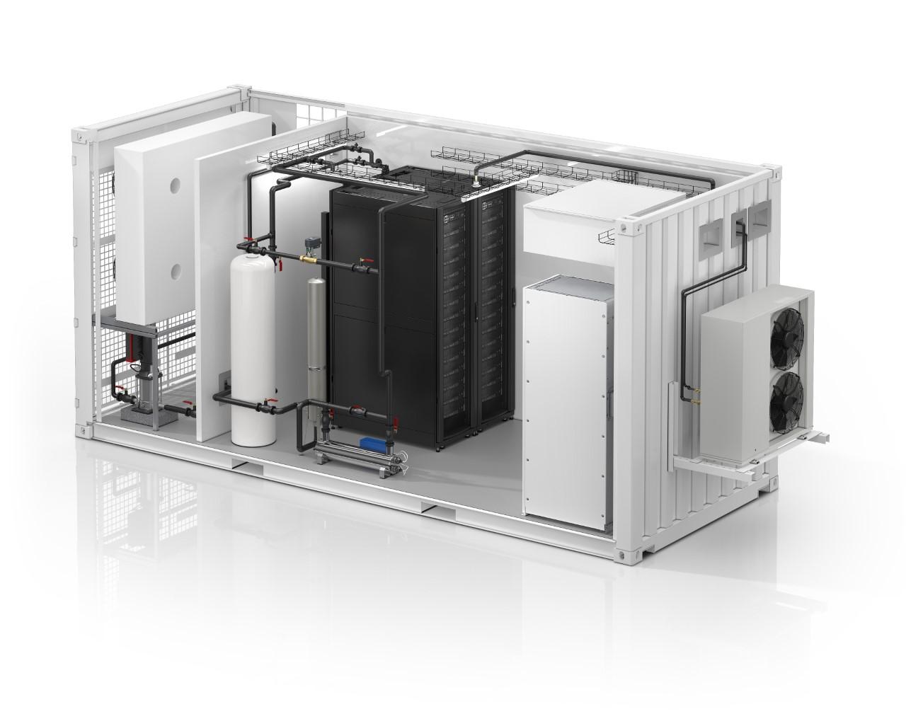 Schneider Electric anunță centrul de date modular EcoStruxure, All-In-One răcit cu lichid, primul în industrie
