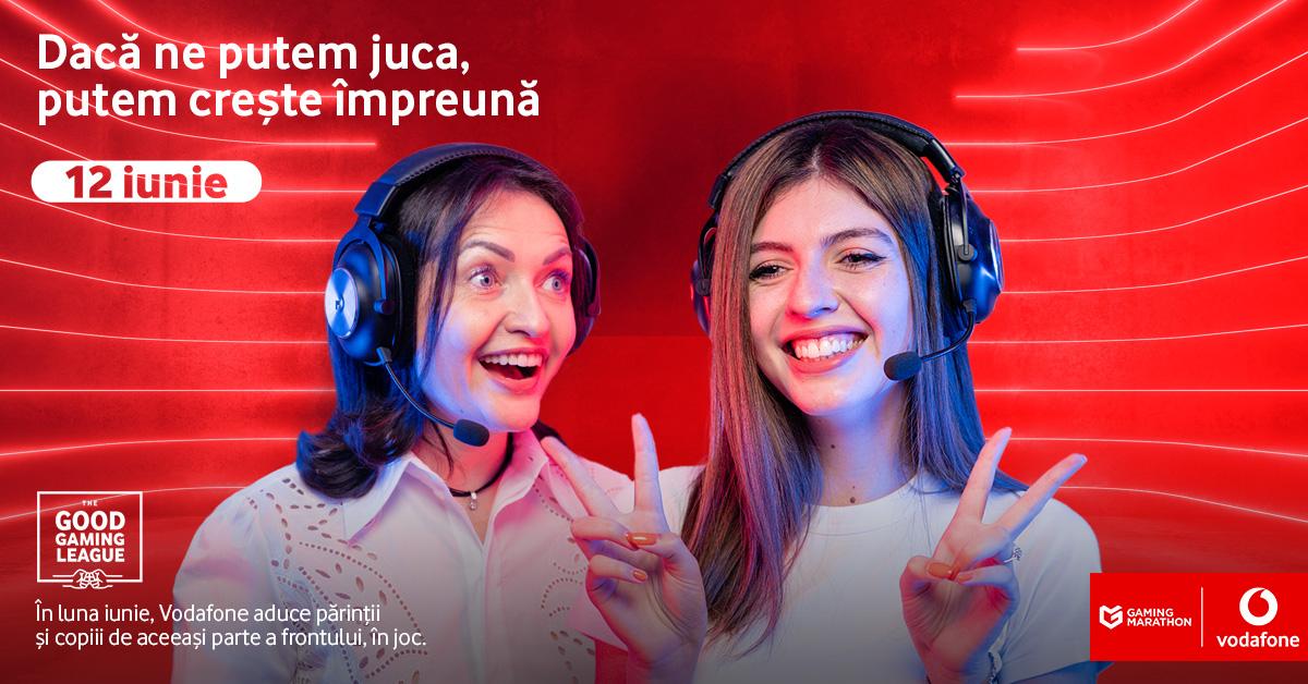 Vodafone România aduce părinții și copiii de aceeași parte a frontului de joc