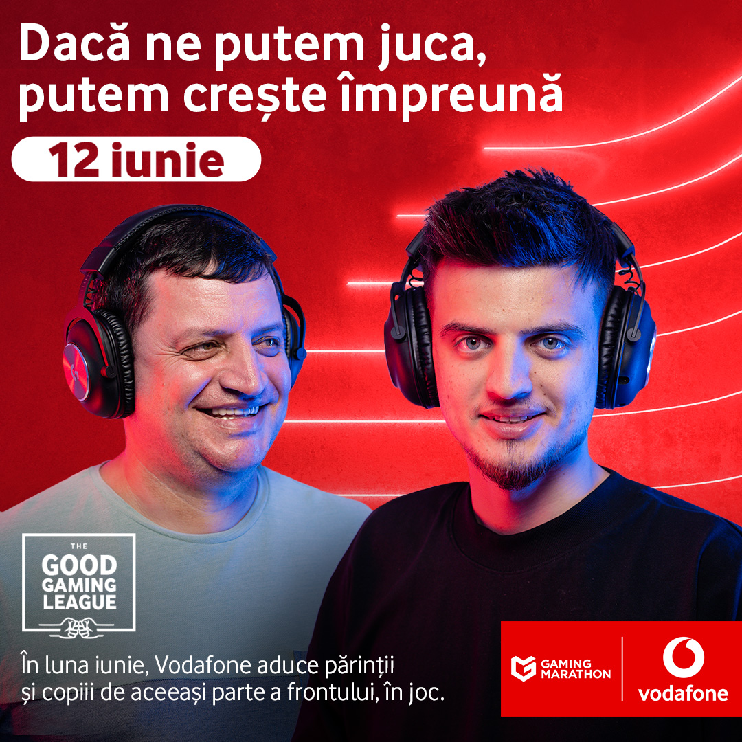 Vodafone România aduce părinții și copiii de aceeași parte a frontului de joc_2