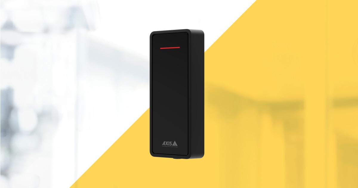 AXIS A4020-E – pentru un control al accesului performant