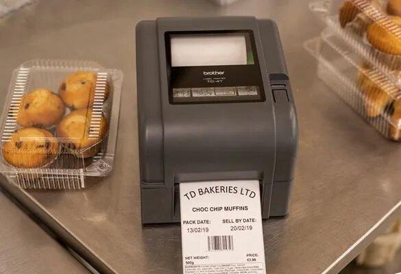 Soluții de etichetare pentru producția de alimente