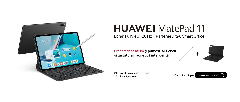 MatePad 11, prima tabletă Huawei cu rată de refresh de 120Hz