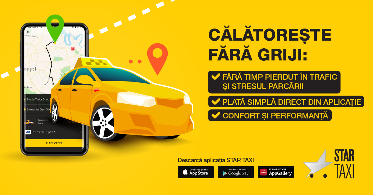 Star Taxi schimbă piața de taximetrie din România (2)