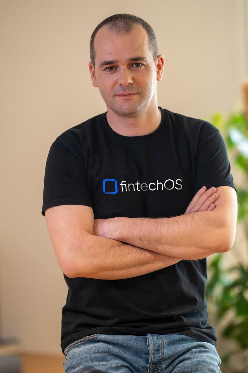 Teodor Blidarus, CEO and Co-Founder FintechOS