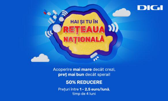 Rețeaua Națională lansează oferta estivală pentru serviciile de telefonie mobilă