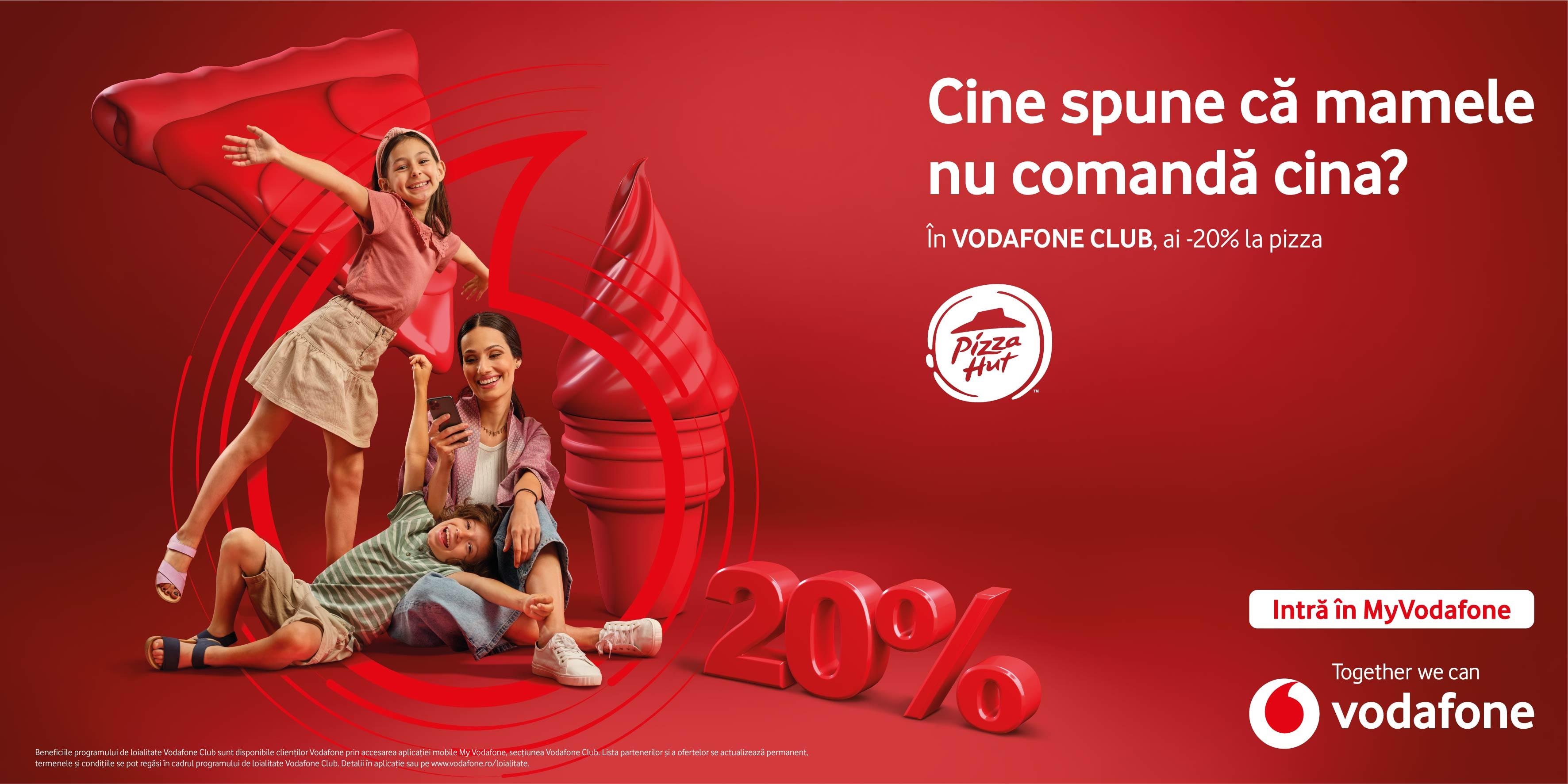 Noile oferte Vodafone Club le oferă clienților posibilitatea să se bucure de vară la maximum