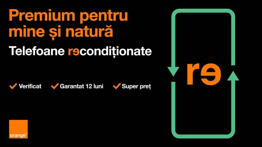 Orange include telefoane premium recondiționate în portofoliul său