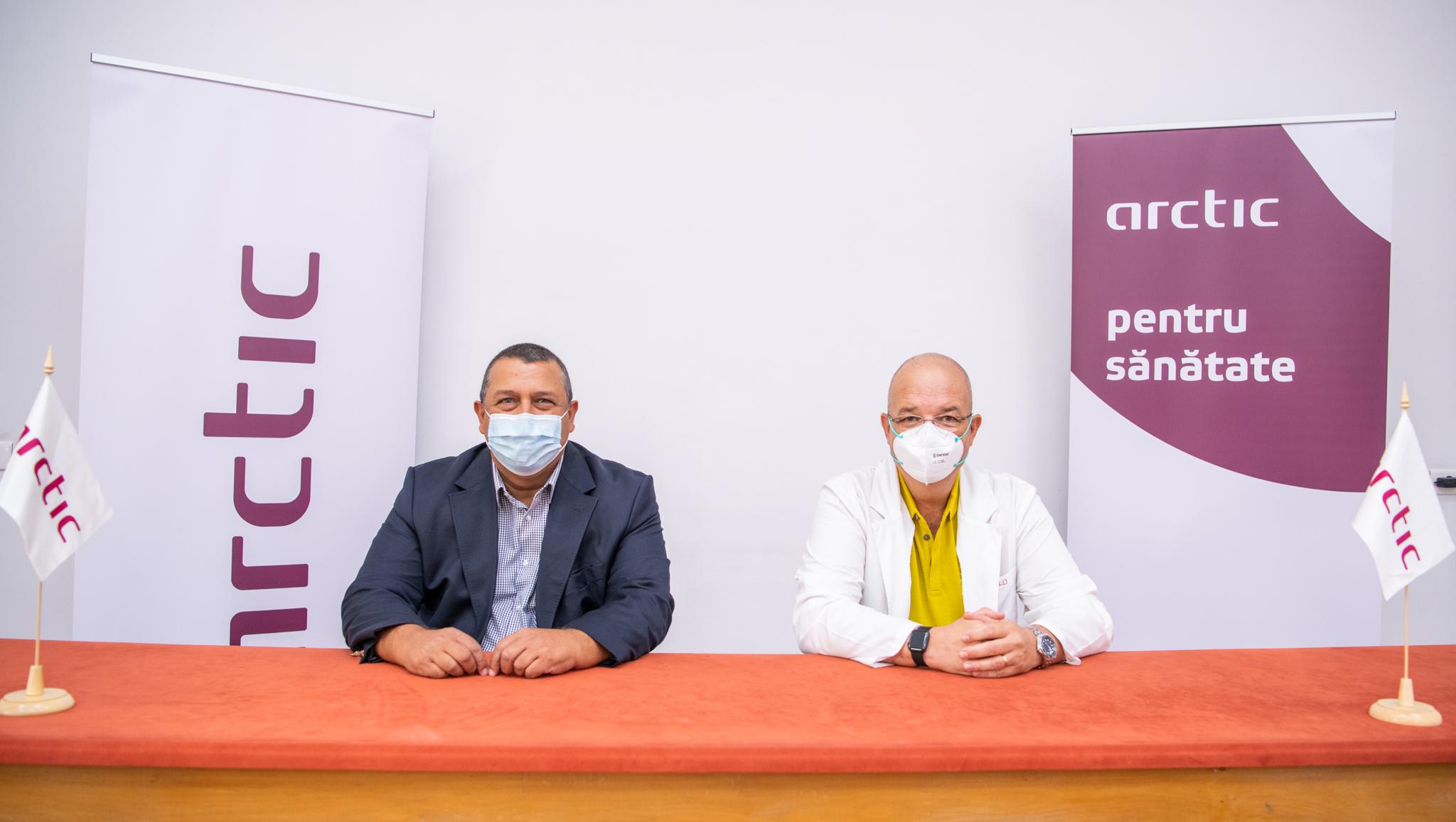 """Arctic donează Spitalului """"Grigore Alexandrescu"""" produse electrocasnice în valoare de 100.000 de lei"""