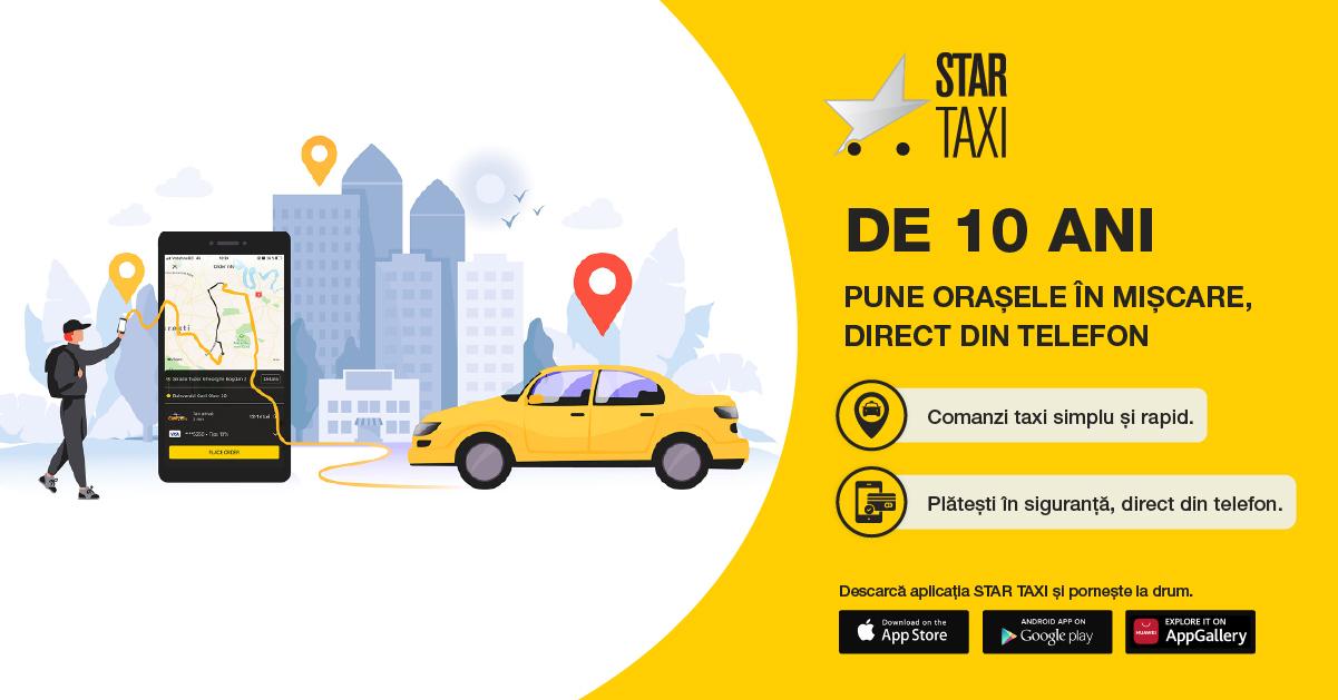Star Taxi ne împrietenește cu orașul
