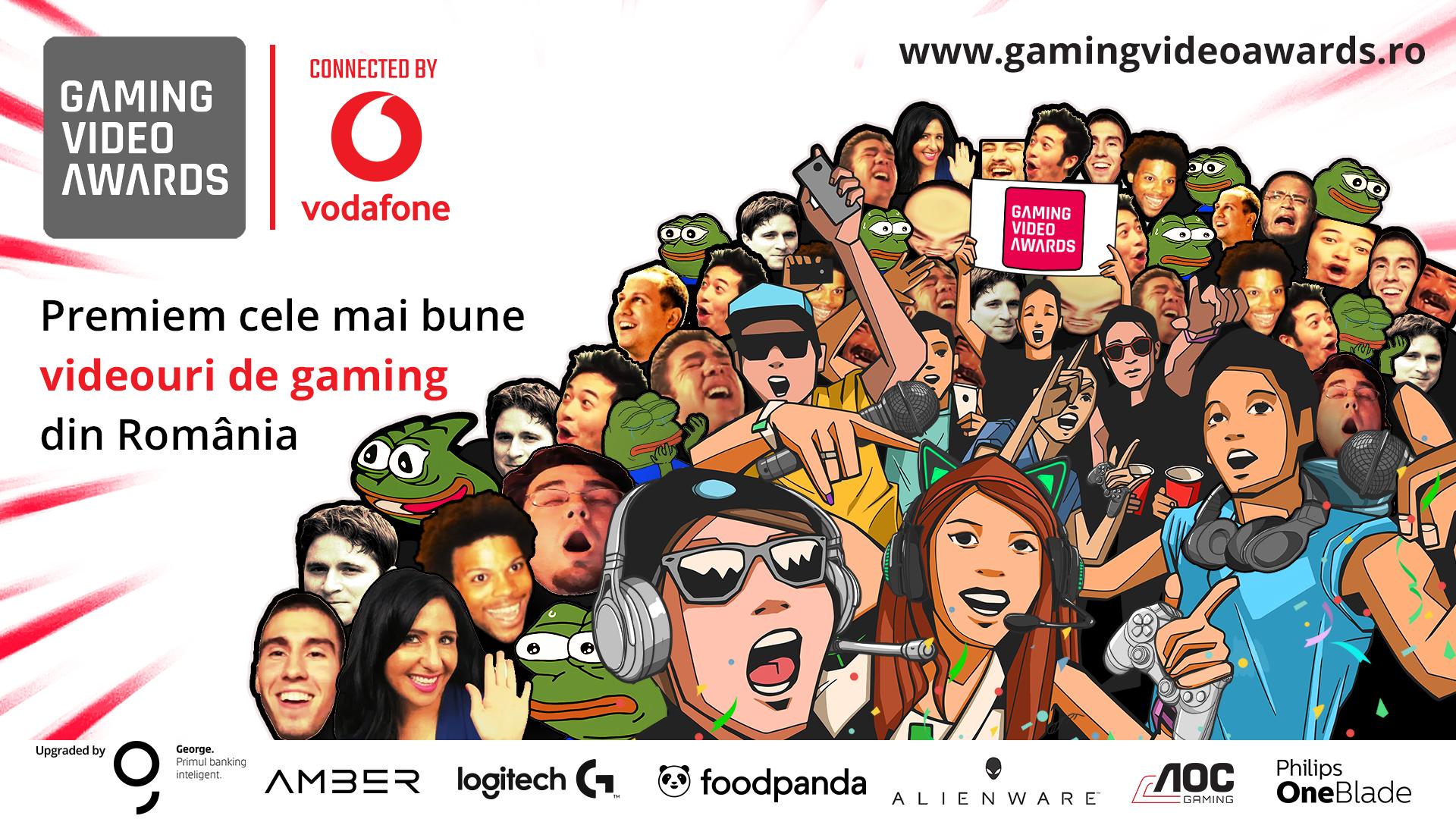 60 de creatori de conținut de gaming locali concurează pentru votul publicului la Gaming Video Awards