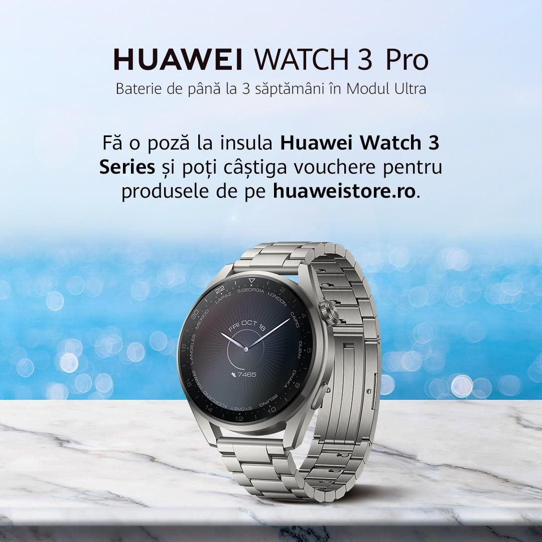 Huawei anunță startul caravanei powered by Huawei în 5 orașe din țară