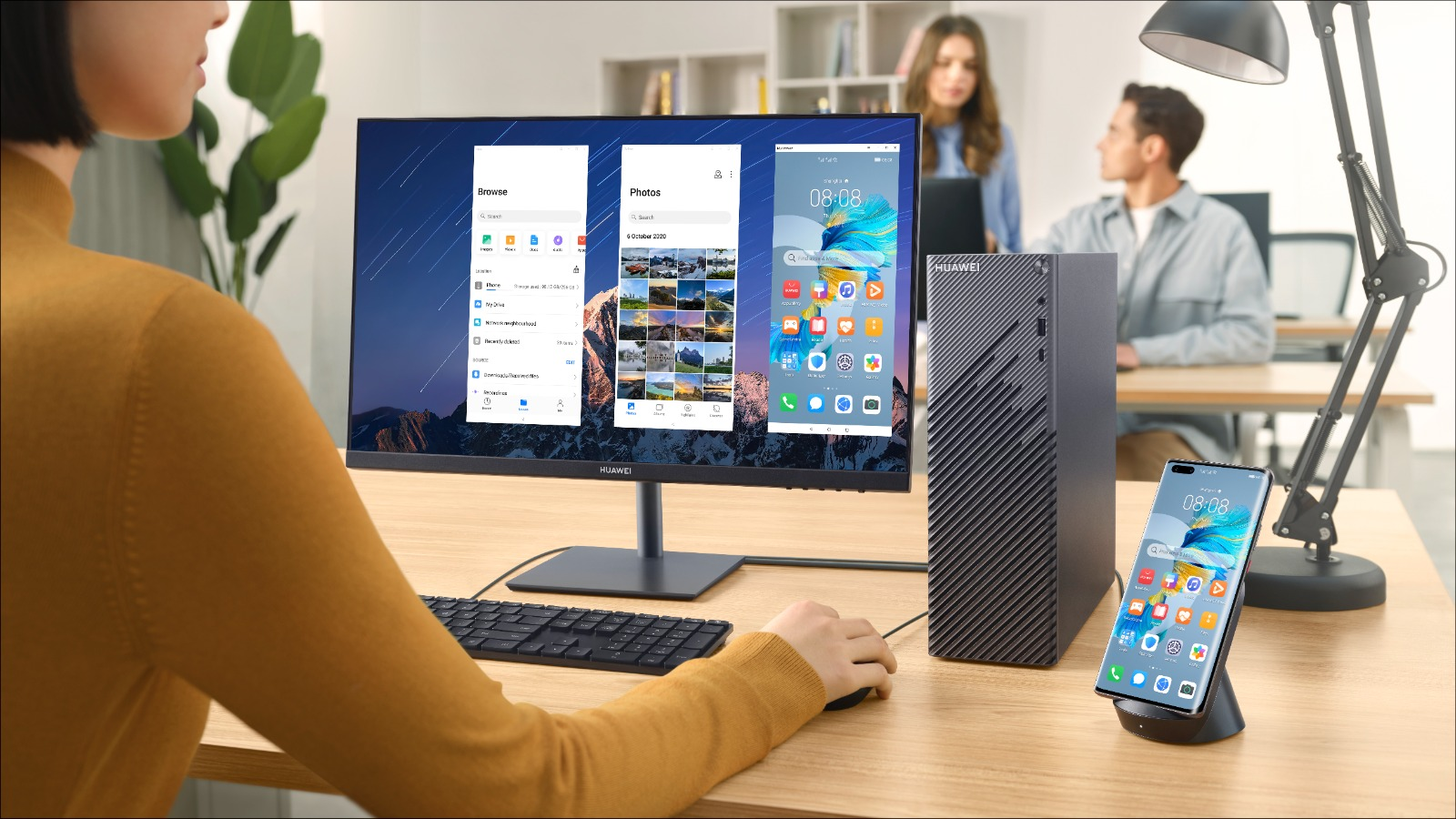 HUAWEI MateStation S, noul PC de birou pentru productivitate sporită