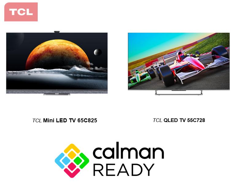 Seriile de televizioare QLED C72+ și Mini Led C82 de la TCL  sunt acum echipate cu Software-ul Calman de calibrare a culorilor