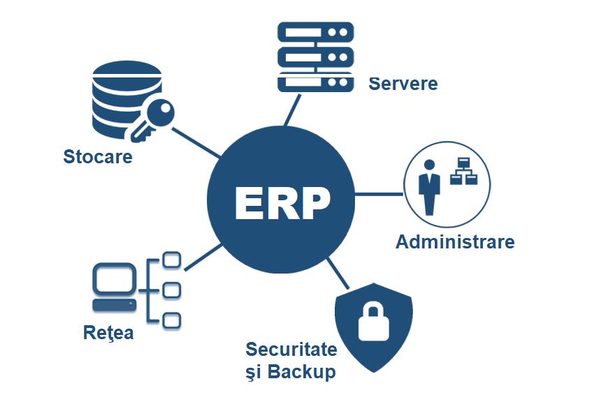 Care sunt cerinţele hardware la implementarea unui sistem ERP