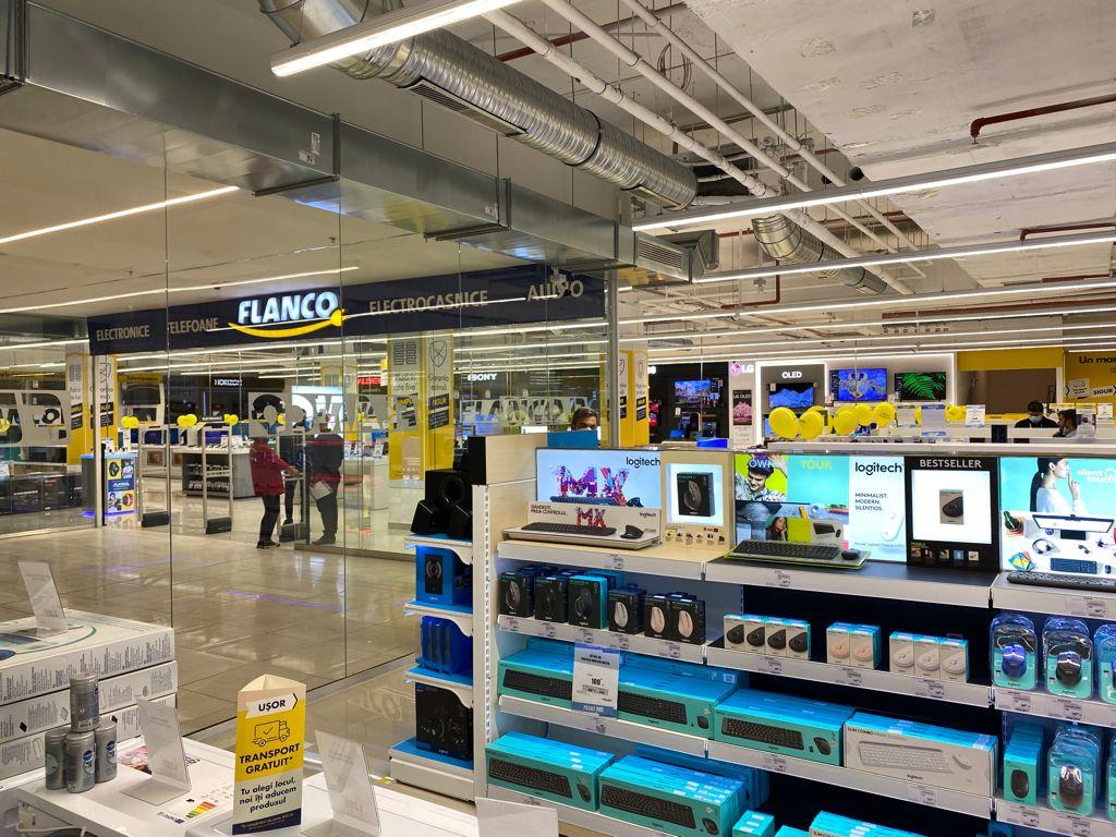 Flanco deschide cel mai mare magazin din țară în  Afi Ploiești