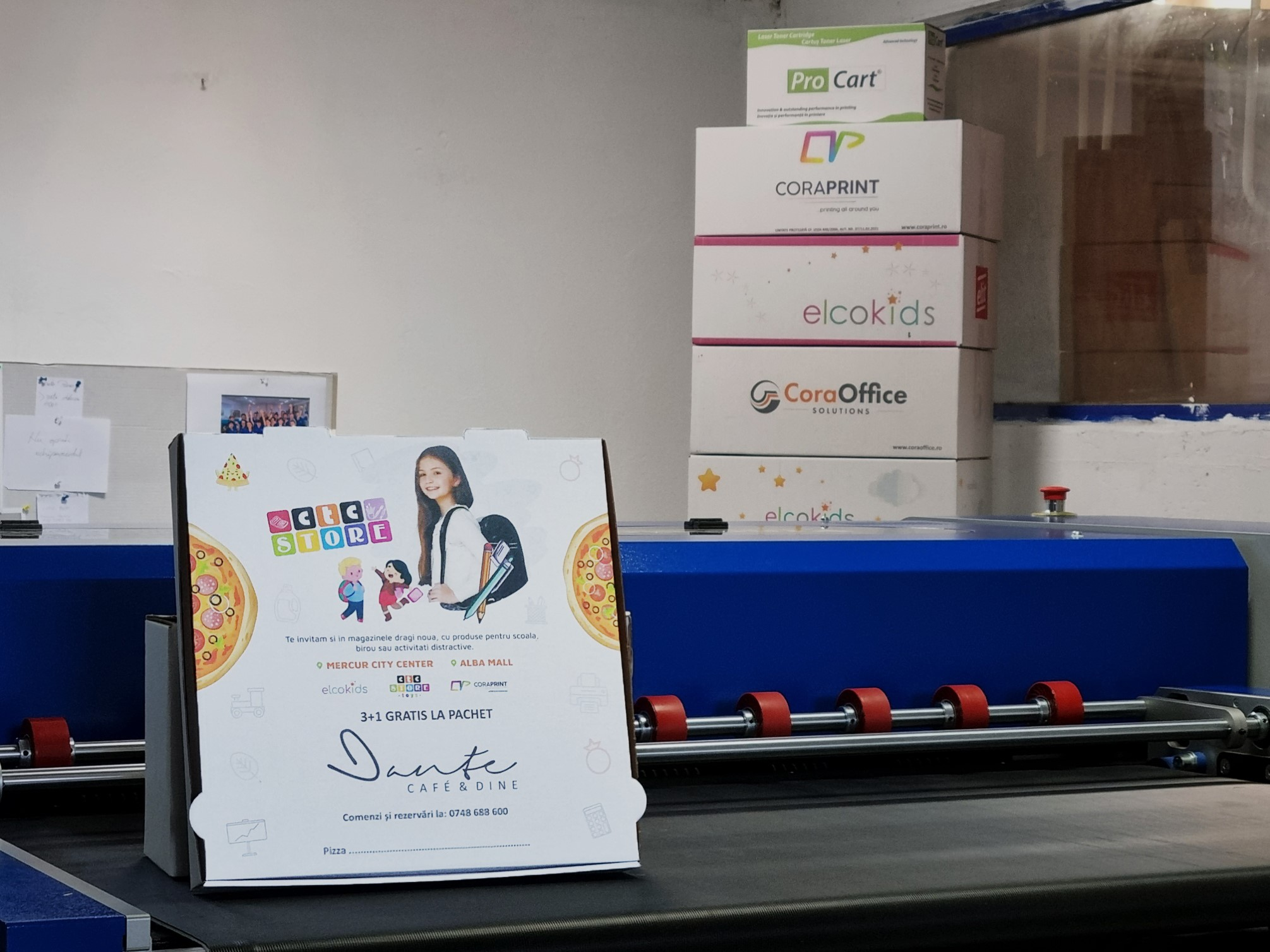 Un nou echipament de print instalat de Konica Minolta România pentru Cora-Print