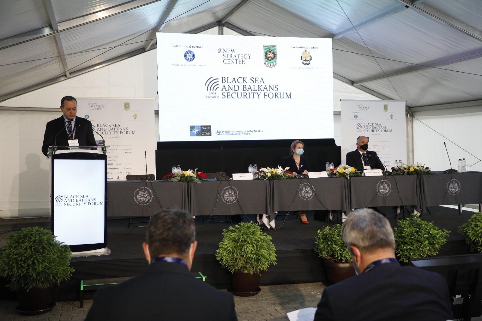 Ericsson prezentă la Black Sea and Balkans Security Forum