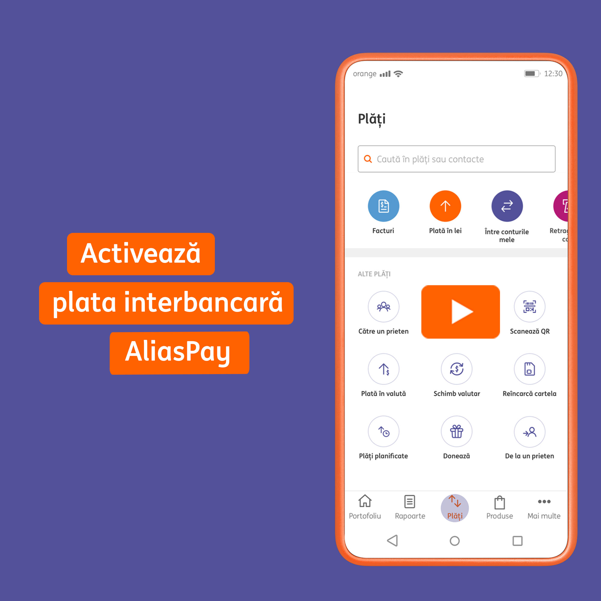 ING Bank România lansează plățile interbancare prin serviciul AliasPay